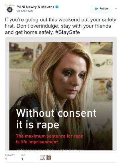 PSNI Newry Consent